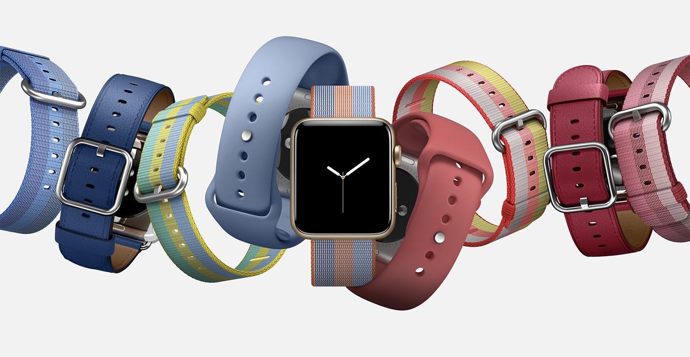 Apple Watch bracelets printemps 2017