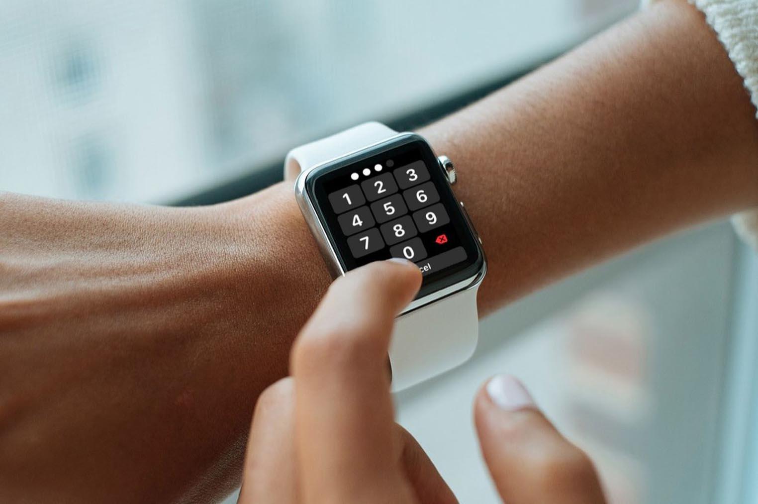 Code déverrouillage Apple Watch