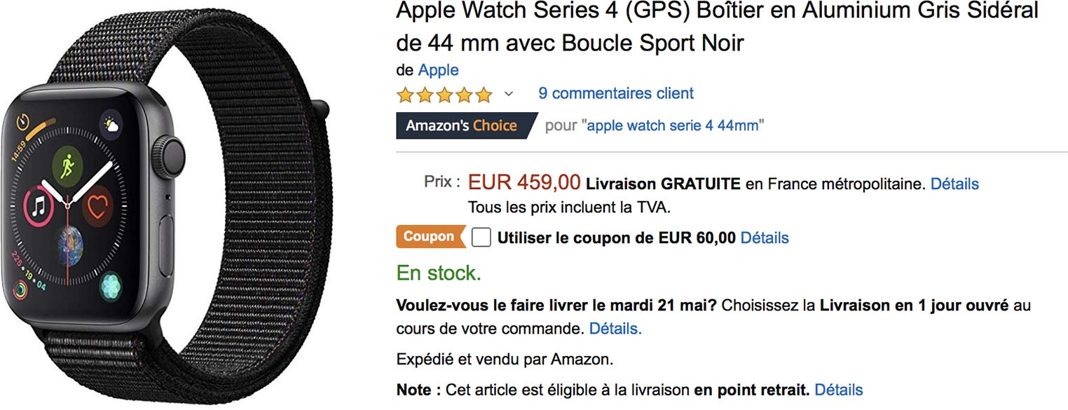 Apple Watch coupon Amazon