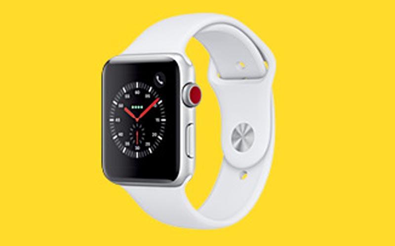 Énorme promo sur les Apple Watch 3 cellulaires