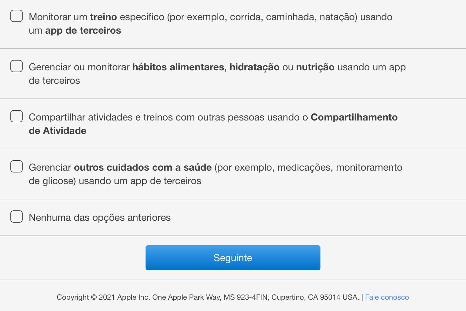Apple Watch sondage mesure glycémie