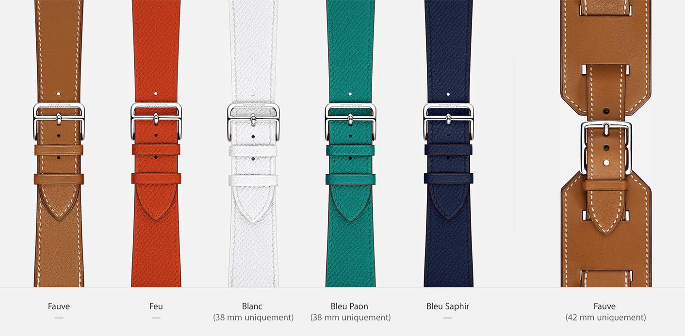 Apple Watch Hermès bracelets