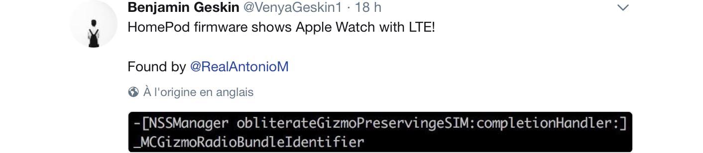 Apple Watch 4G LTE confirmed