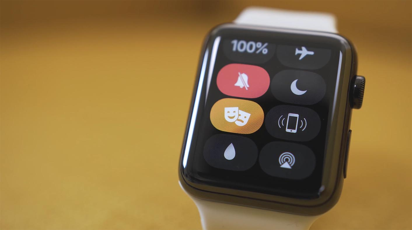 Apple Watch mode cinéma