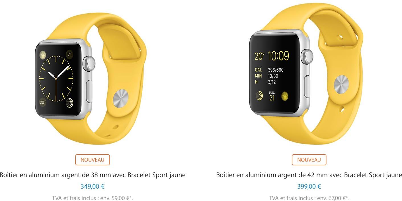 Apple Watch bracelet nylon
