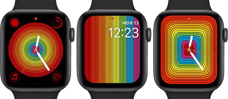 Apple Watch cadran fierté 2019