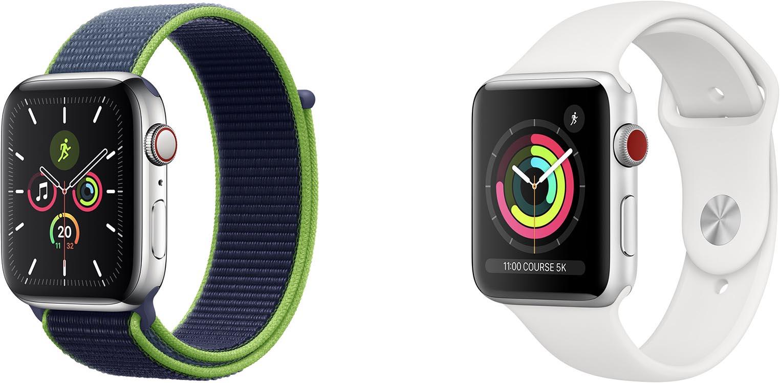 Apple Watch Series 5 Series 3