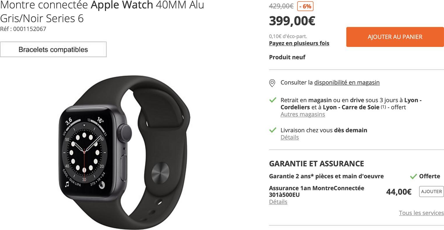 Apple Watch Series6 Boulanger