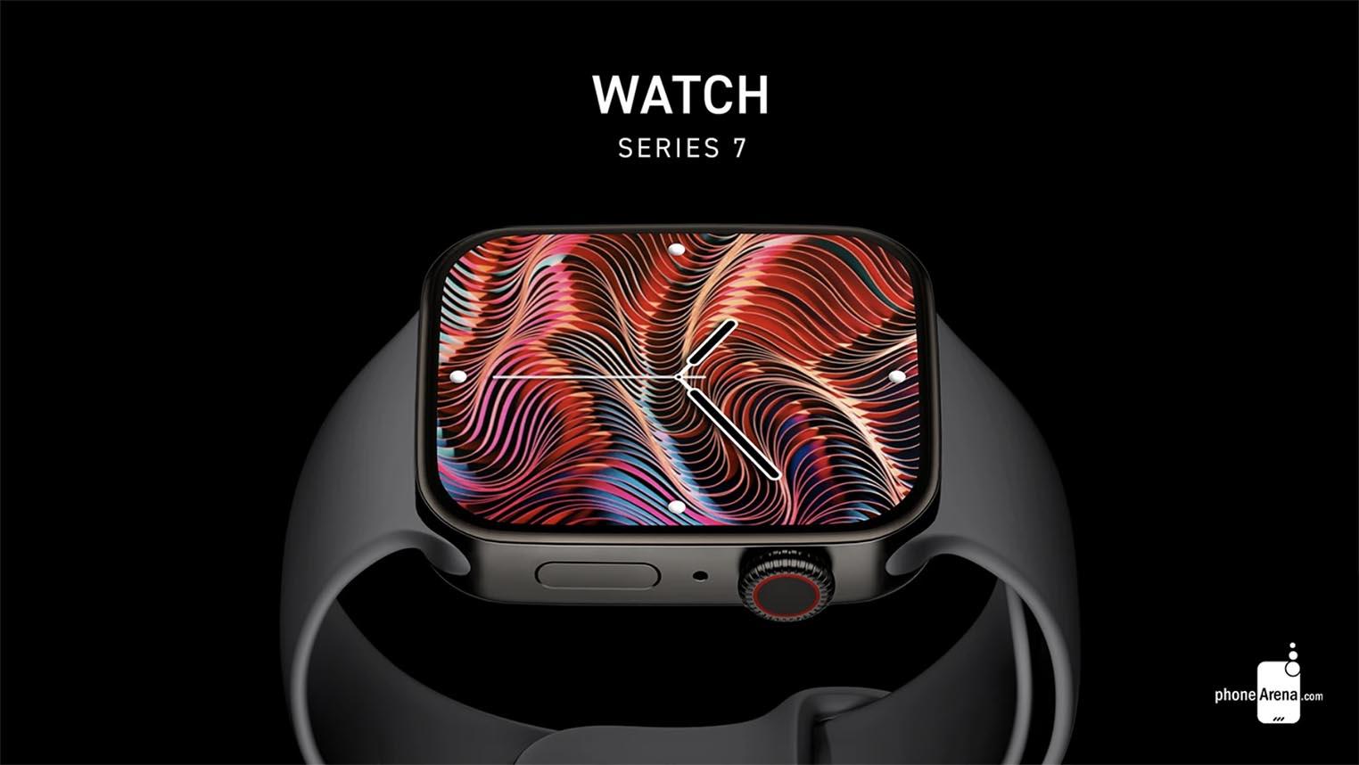 Concept Apple Watch Series 7