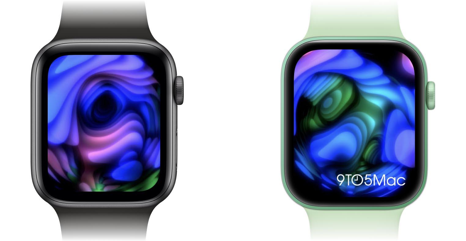 Comparaison Apple Watch Series6 Apple Watch Series7