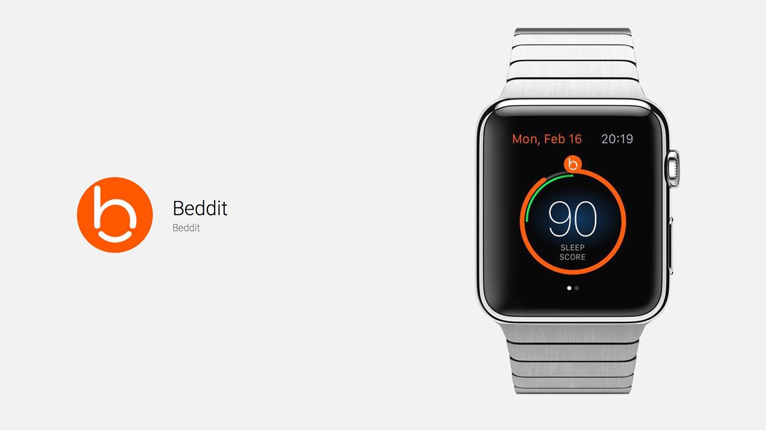 Apple Watch Beddit suivi du sommeil