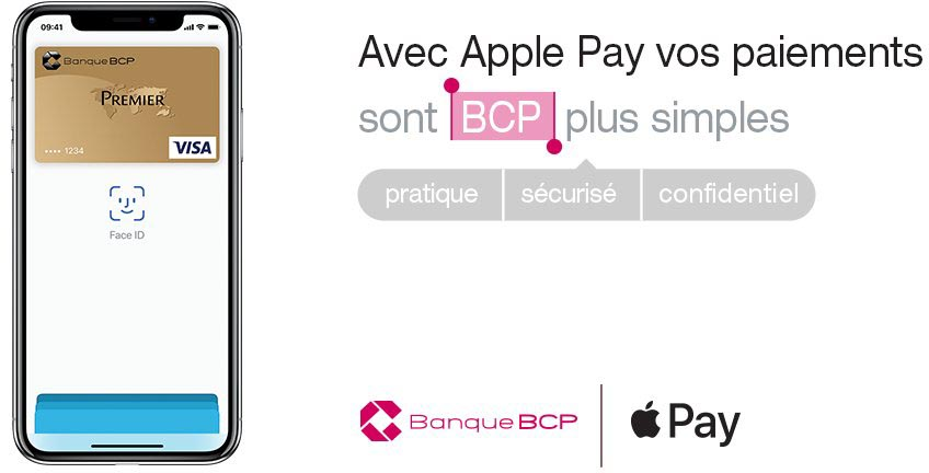 Apple Pay Banque BCP