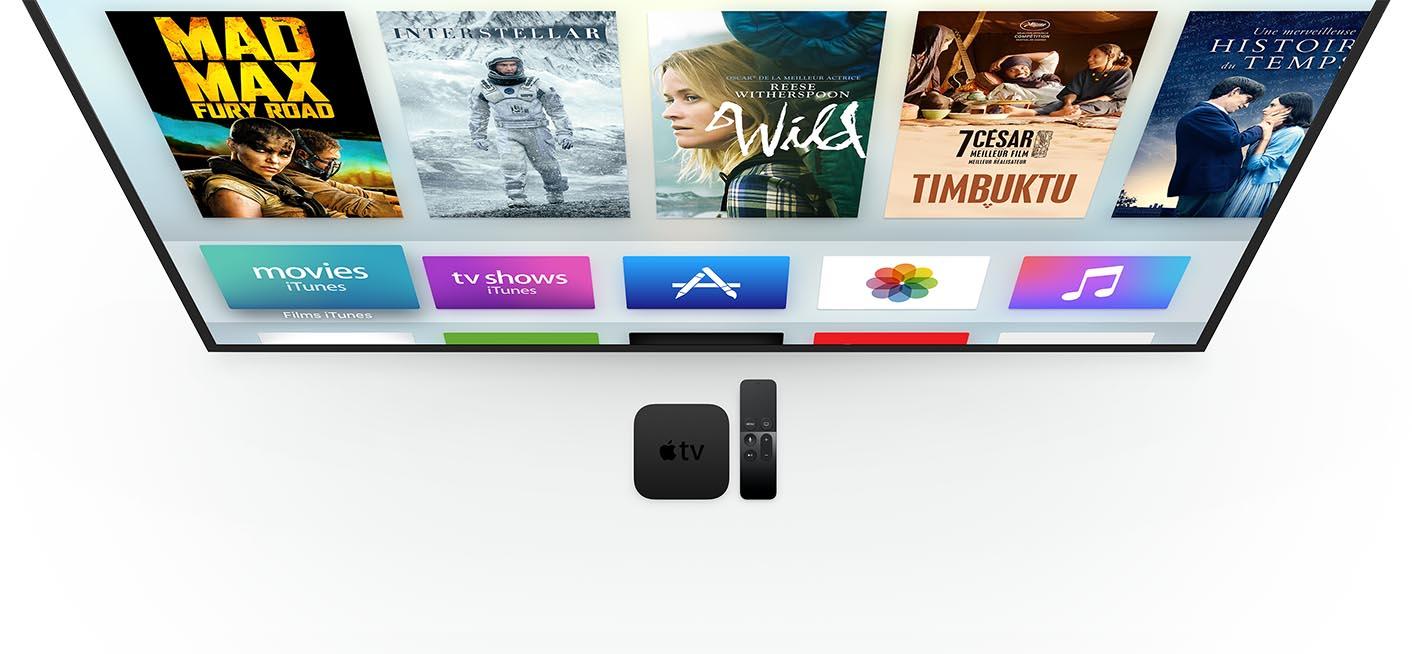 Apple TV 2015 interface