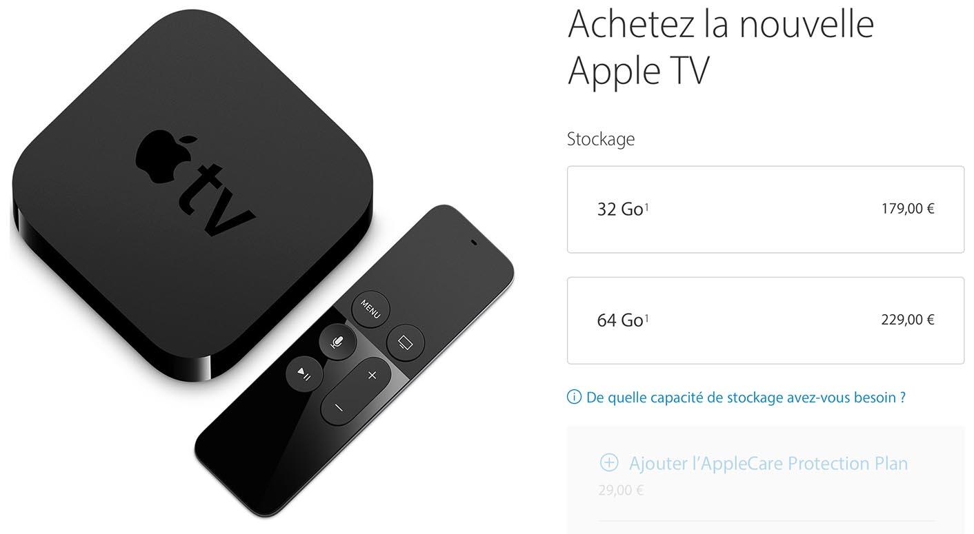 Apple TV 2015 Apple Store