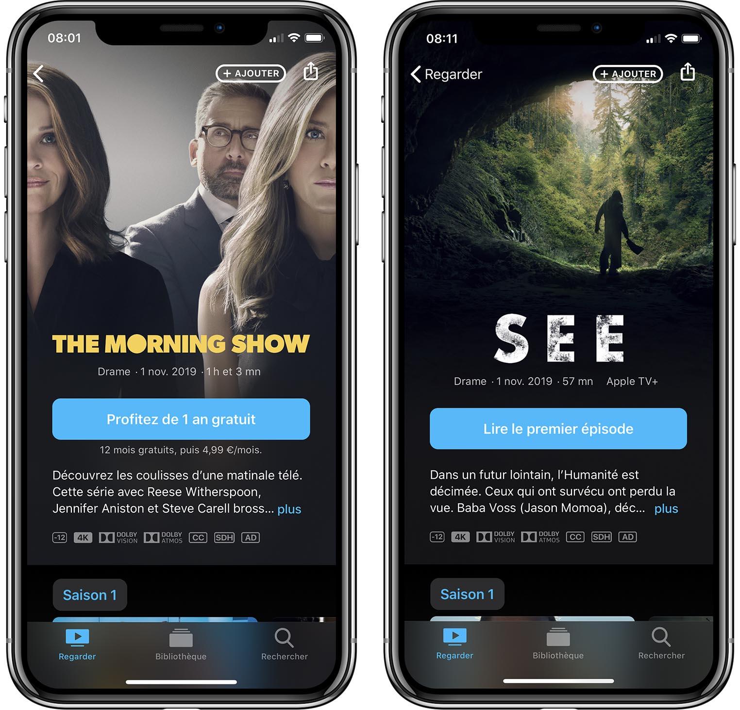Apple TV+ iPhone