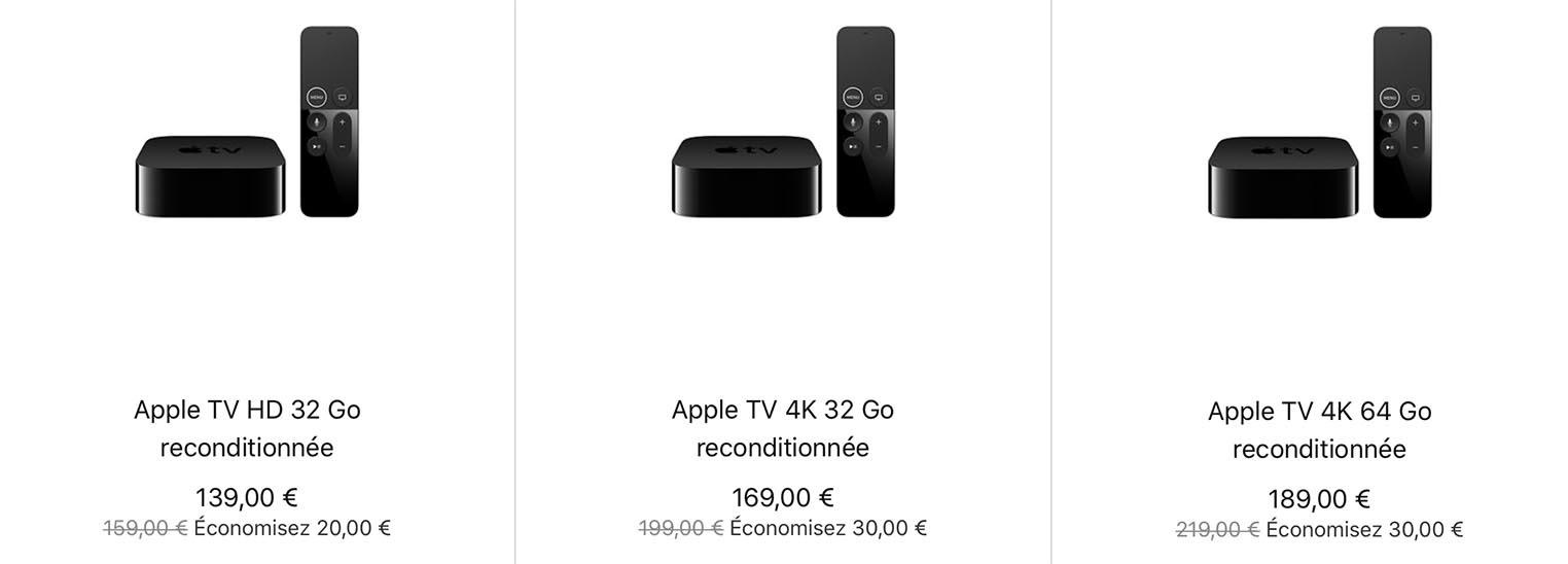 Apple TV Refurb Store