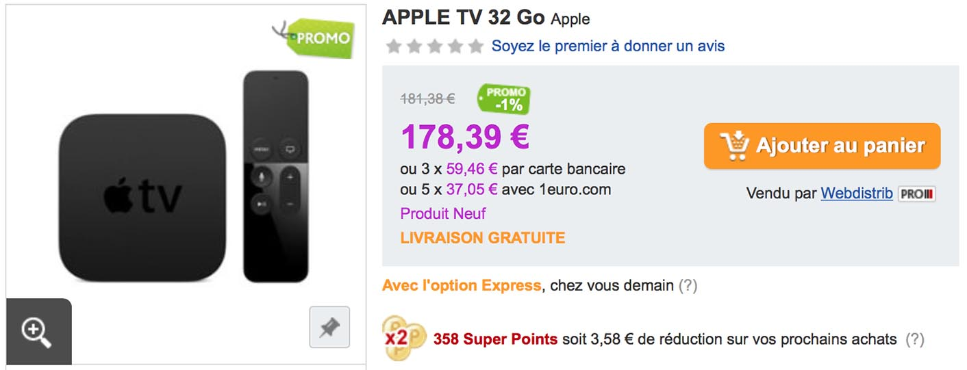 Apple TV 4 Promo