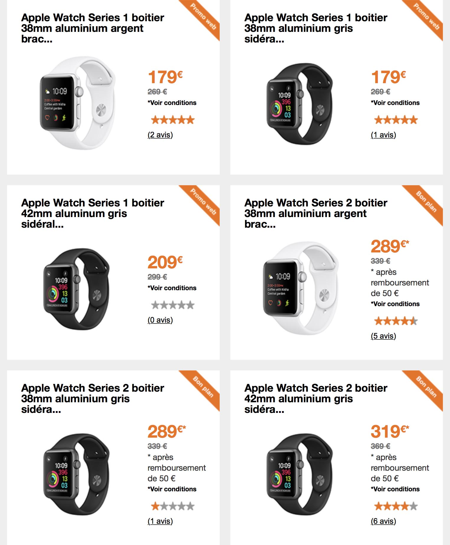 Apple Watch promo Orange