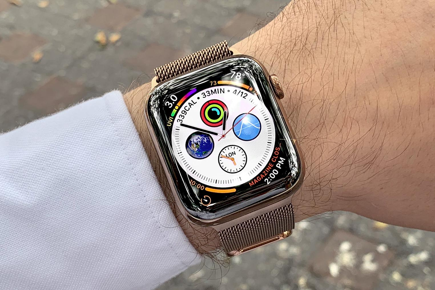 Apple Watchg Series 4 infographe