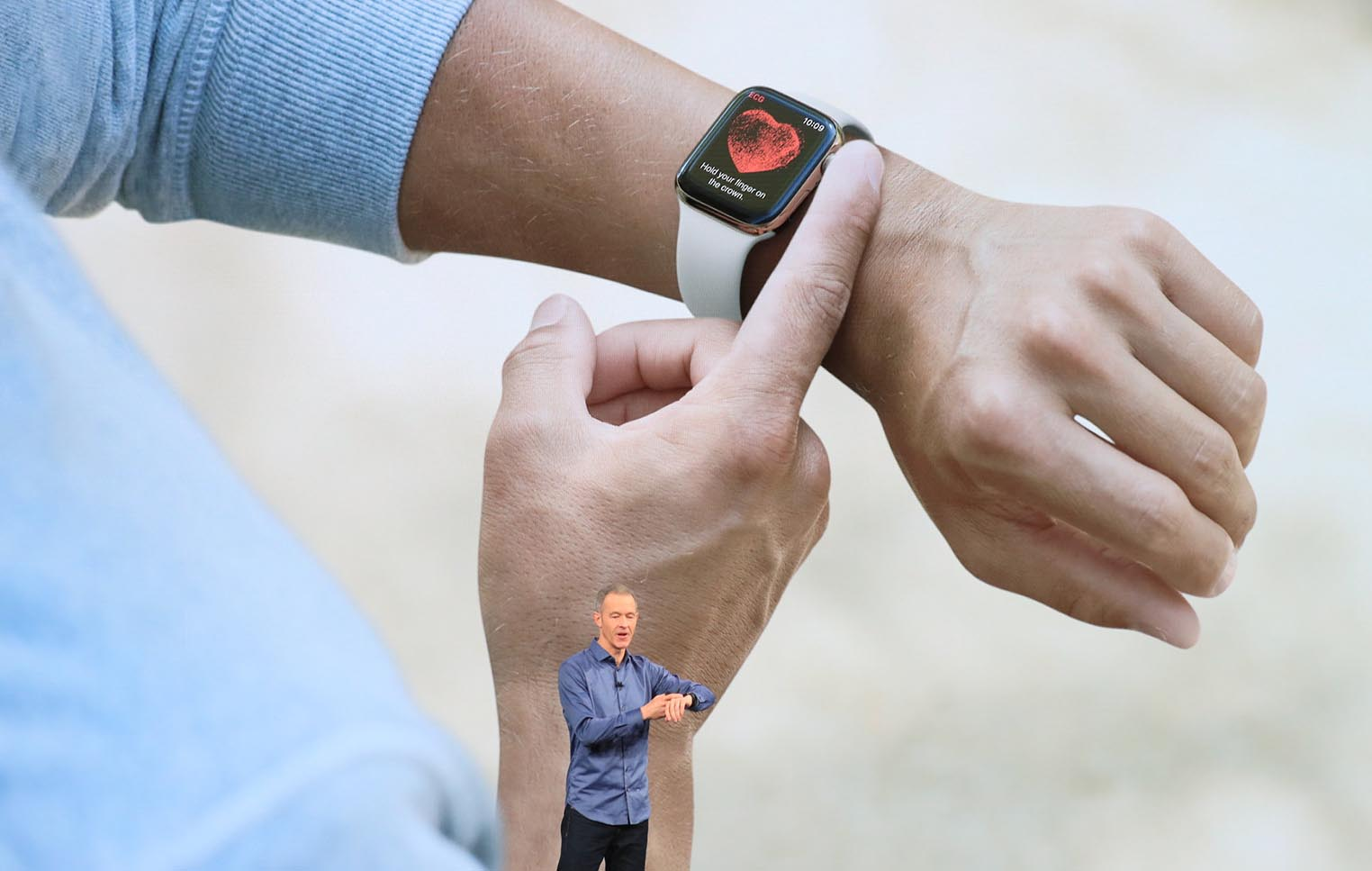 Apple Watch 4 électrocardiographe