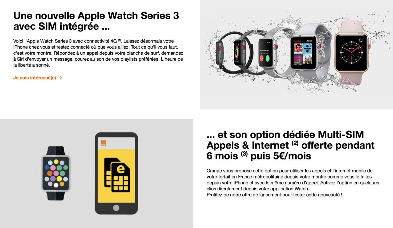 Apple Watch 3 Orange