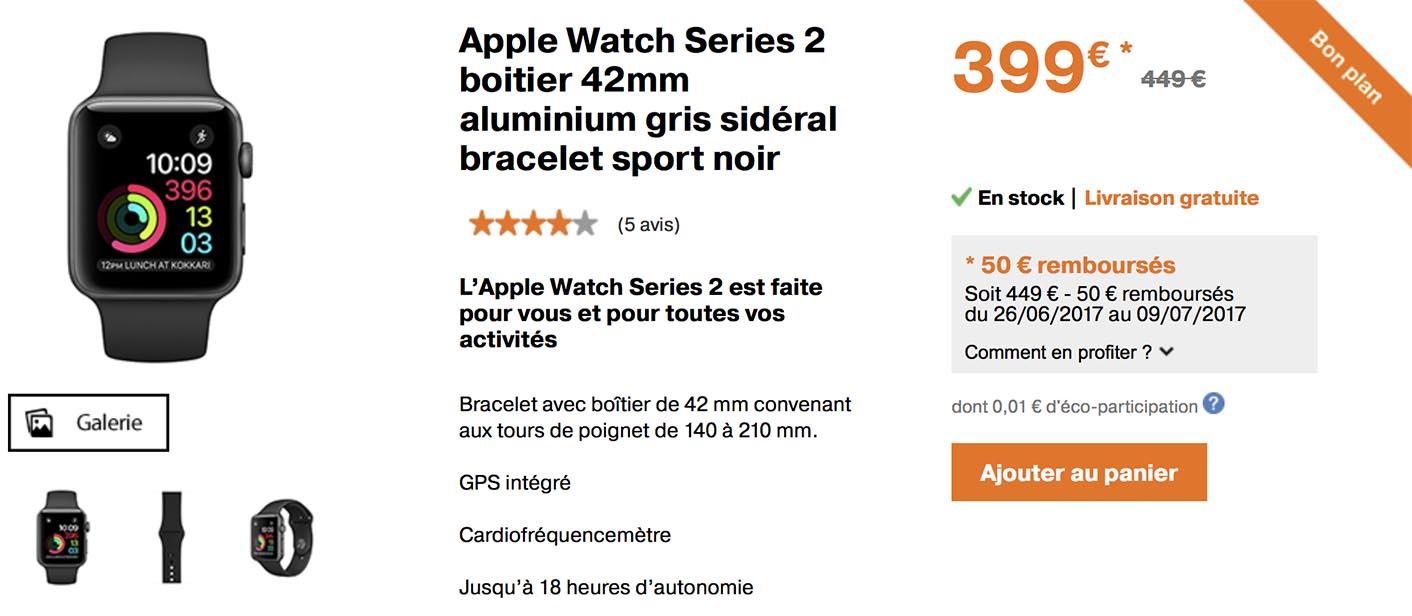 Apple Watch promo Orange