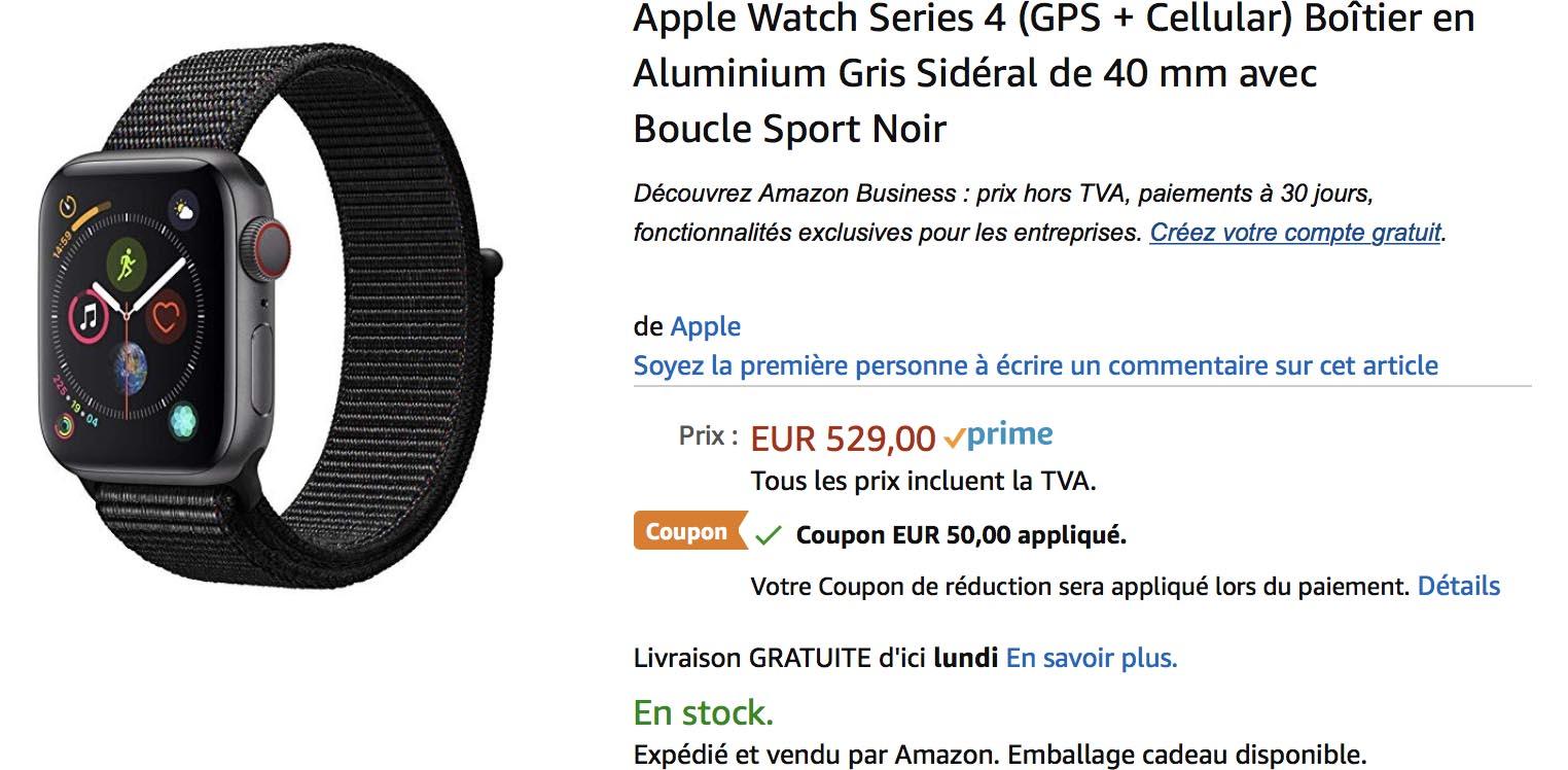 Apple Watch promo Amazon