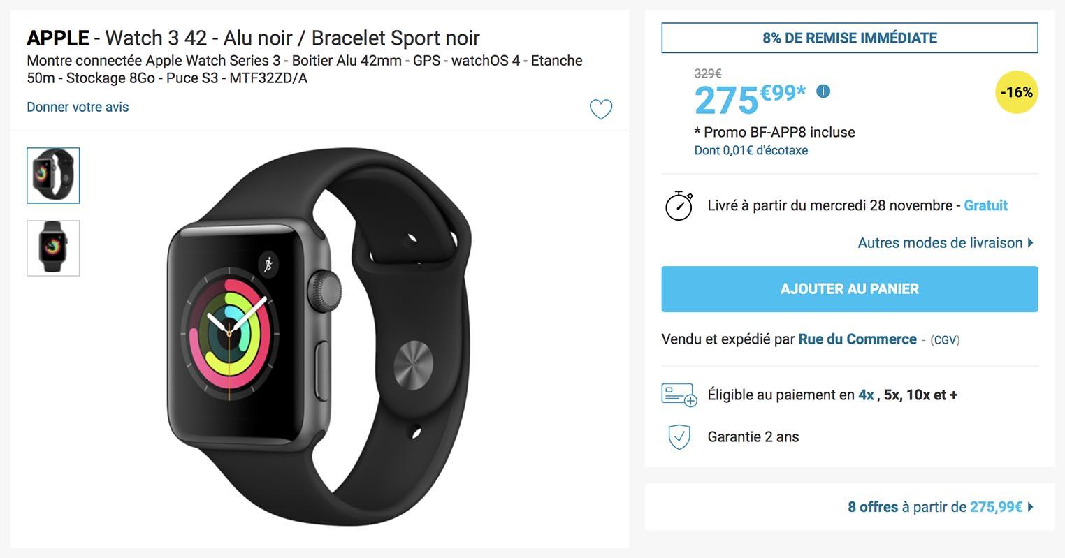Apple Watch Rue du Commerce
