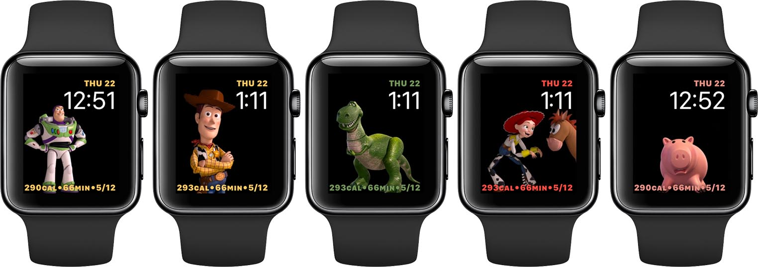Apple Watch cadrans Pixar