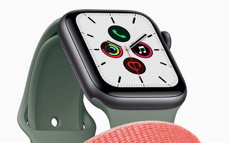 Apple dévoile l'Apple Watch Series 5