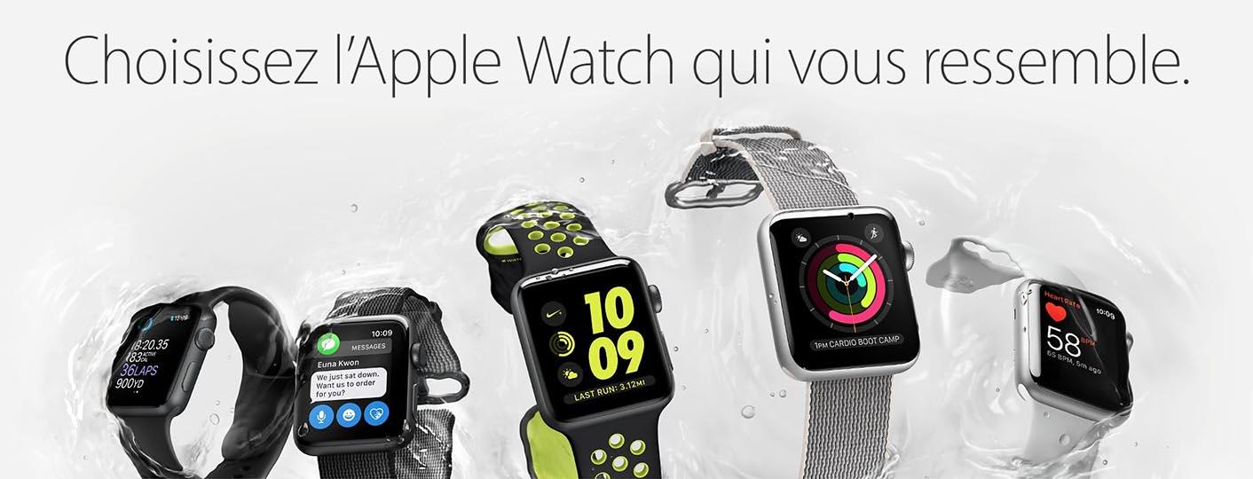 Apple Watch 2 choix