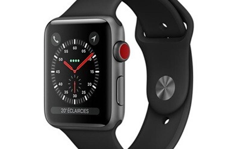 Une Apple Watch 3 cellulaire de 38 mm à 199,50 € !