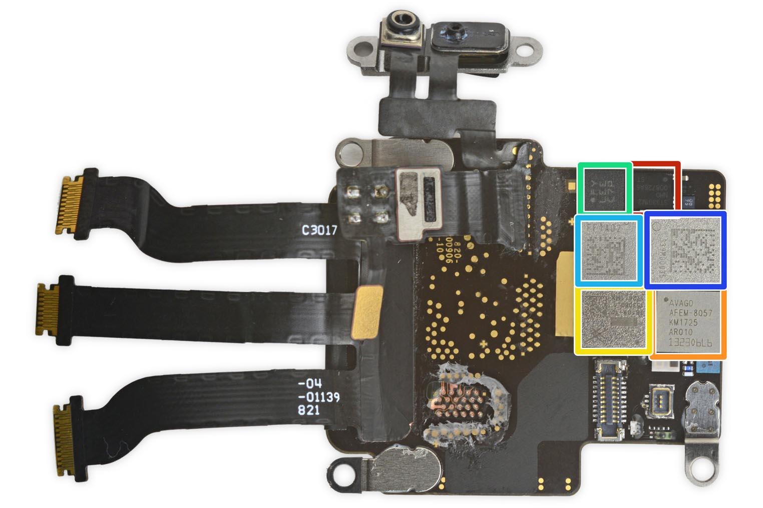 Apple Watch 3 démontage iFixit