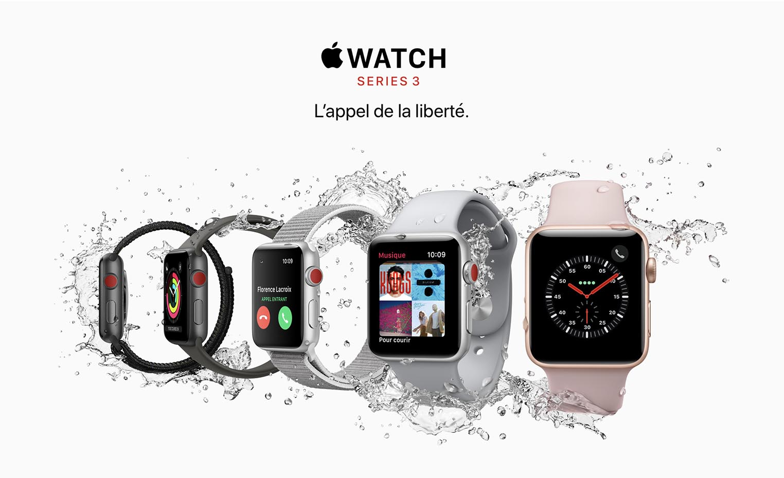 Apple Watch 3 disponible