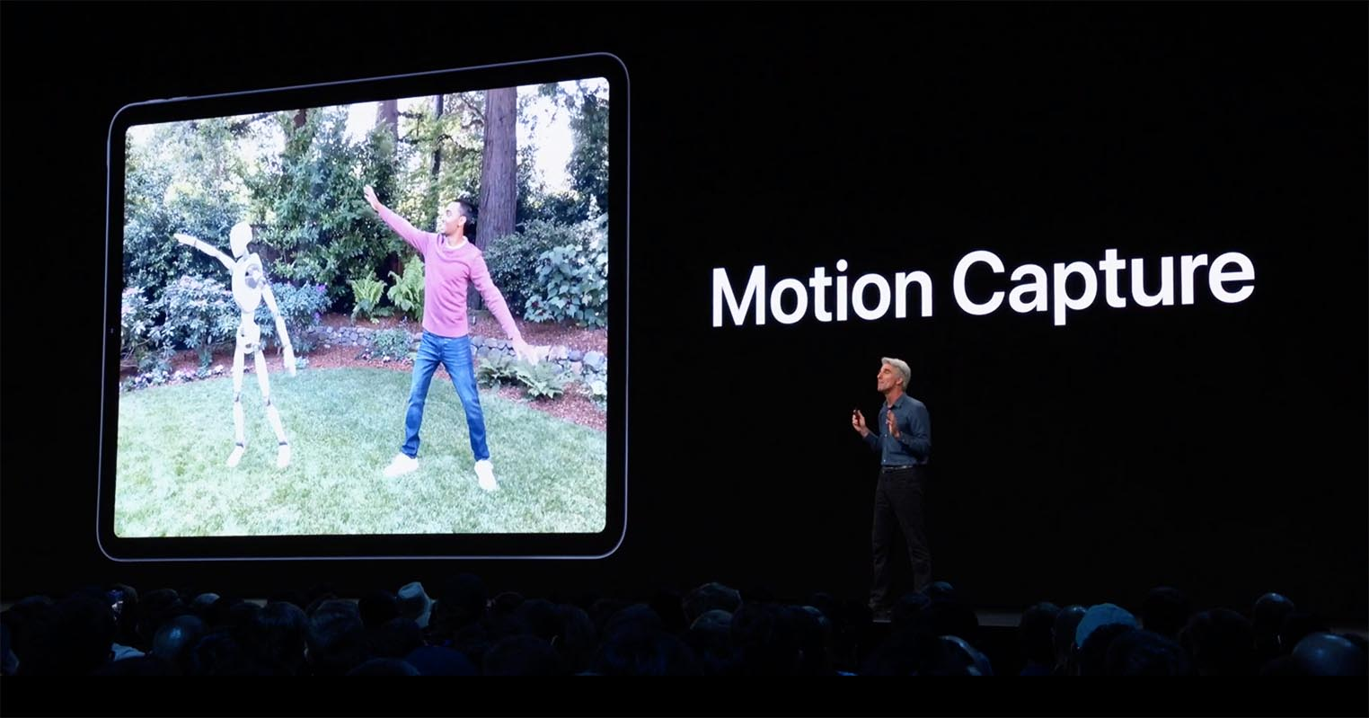 ARKit 3 Motion Capture