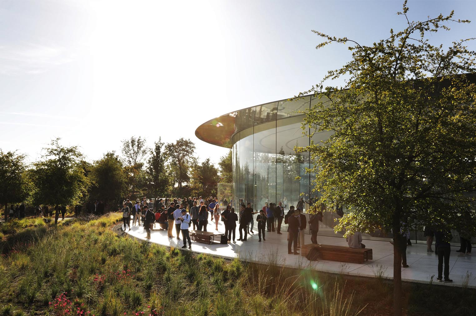 Steve Jobs Theatre septembre 2018