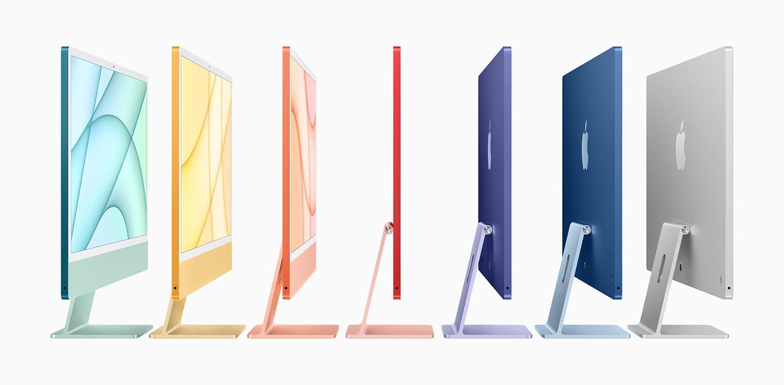 iMac 24 pouces couleurs