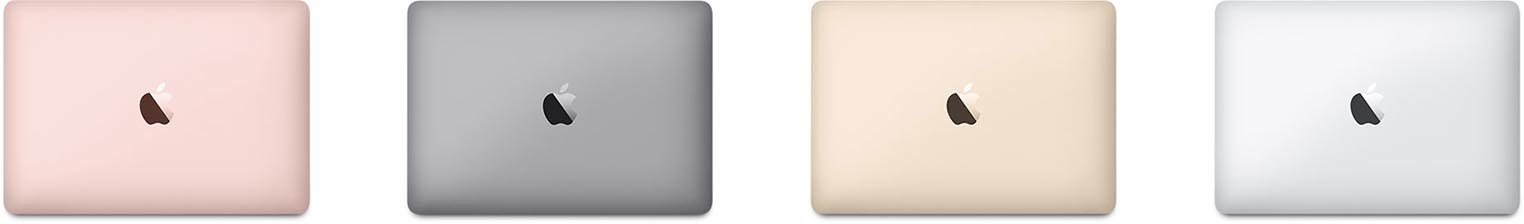 MacBook 12 couleurs