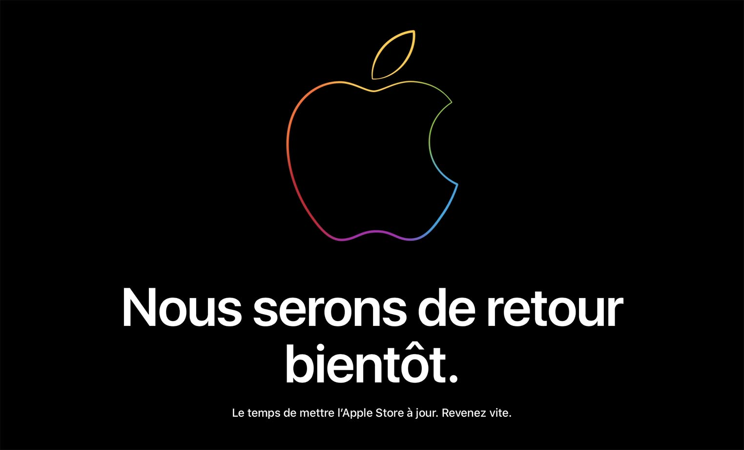Apple Store fermé 2019