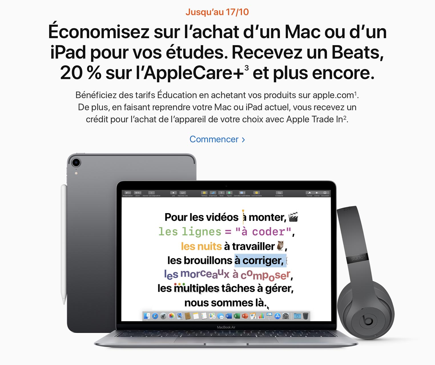 Apple Back to School 2019