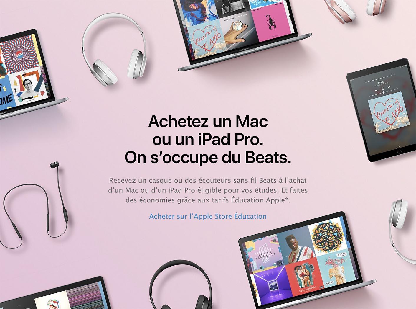 Back to School 2017 Apple