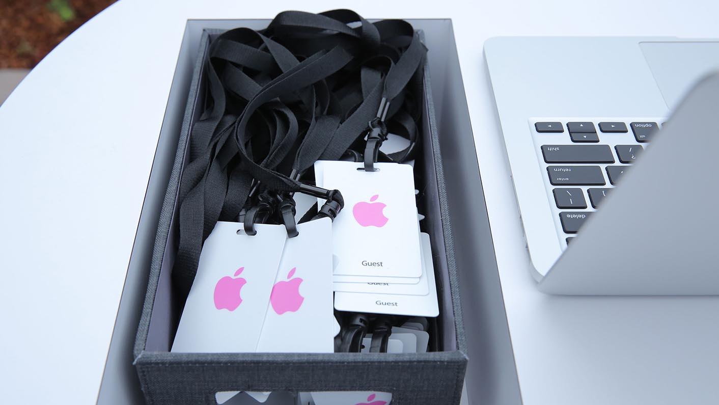 Badges Apple presse