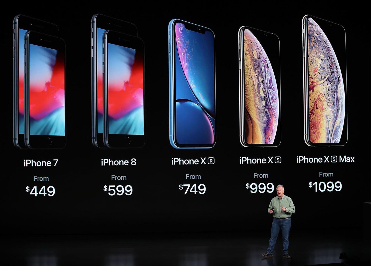 iPhone gamme 2018 keynote Phil Schiller