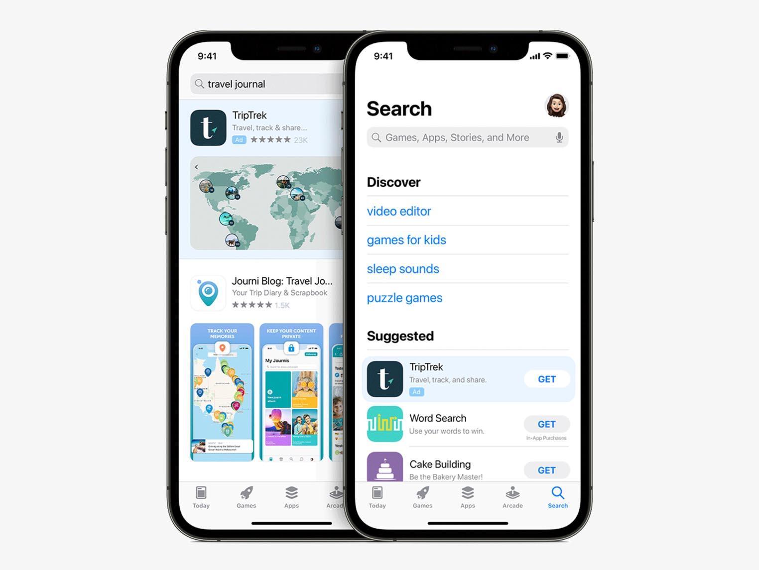 Bandeau pub App Store