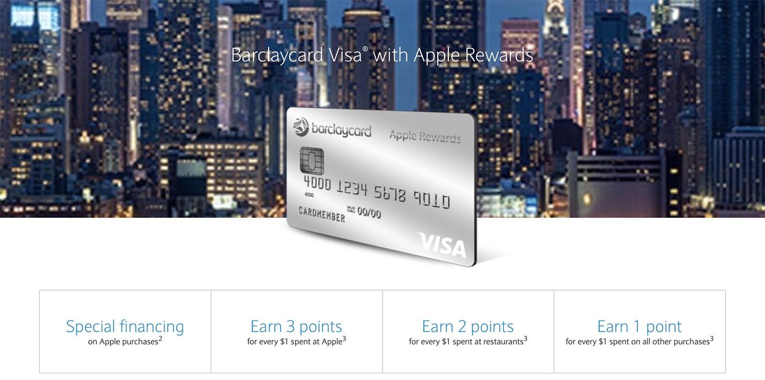 Barclaycard Apple Rewards