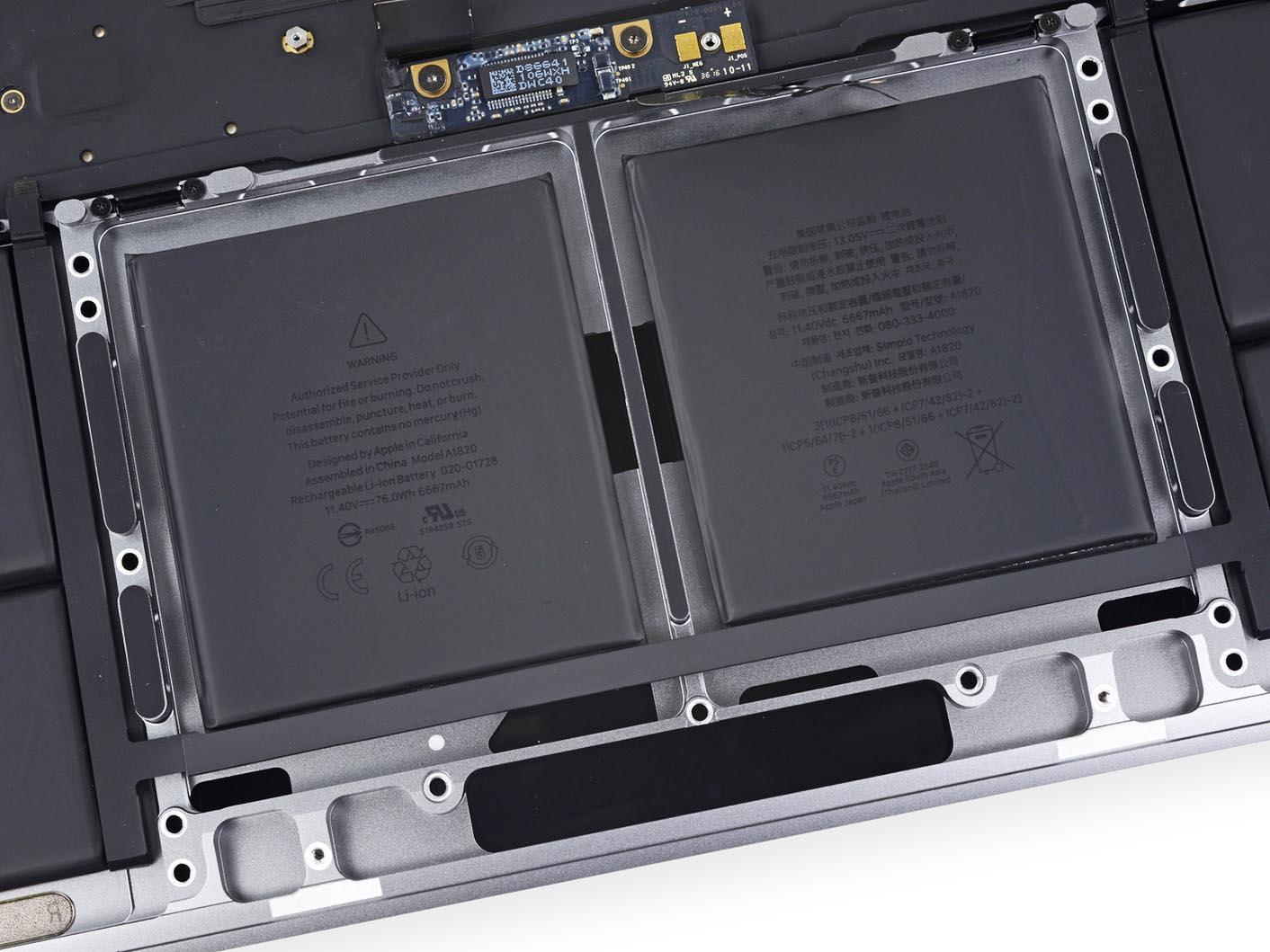 Batterie MacBook Pro 2016