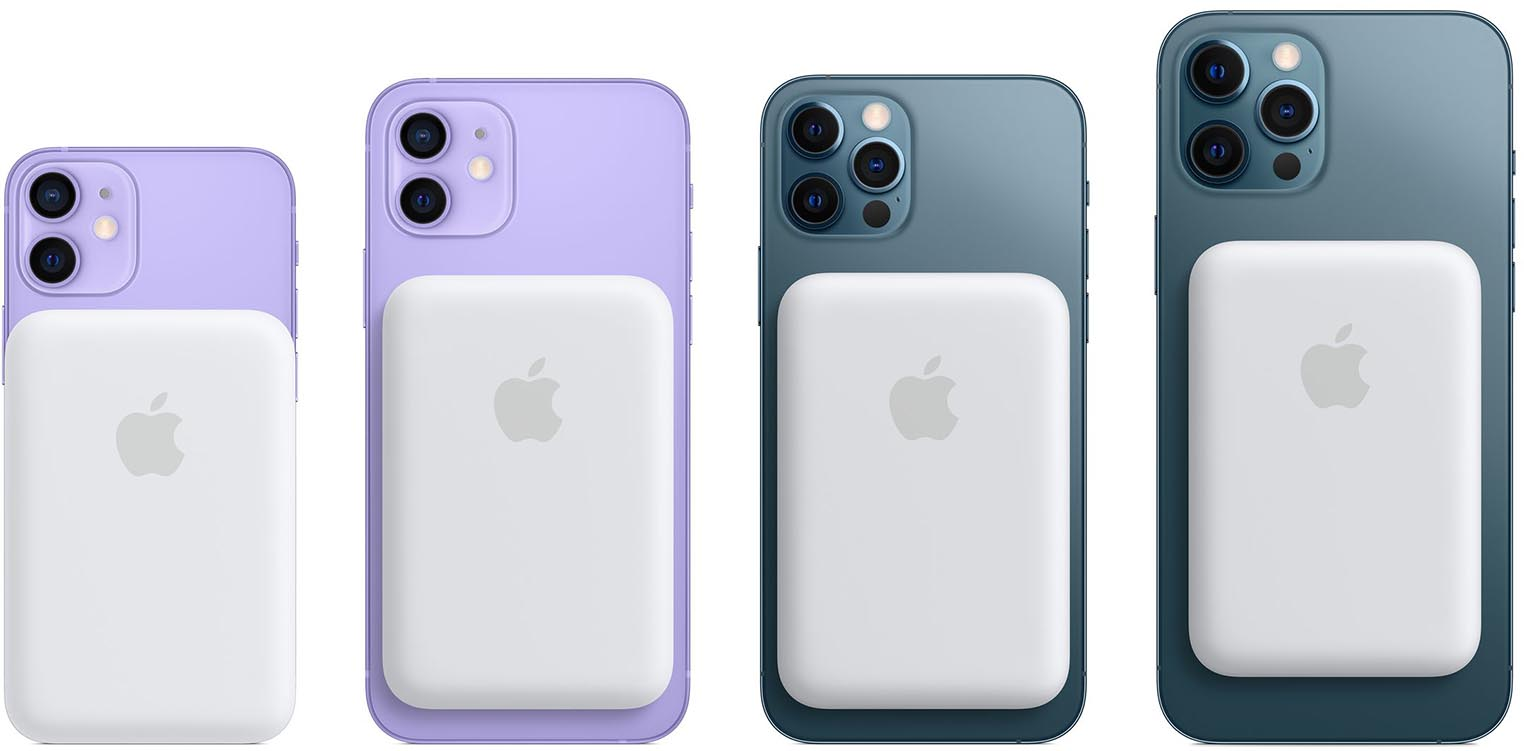 Batterie externe MagSafe pour iPhone 12