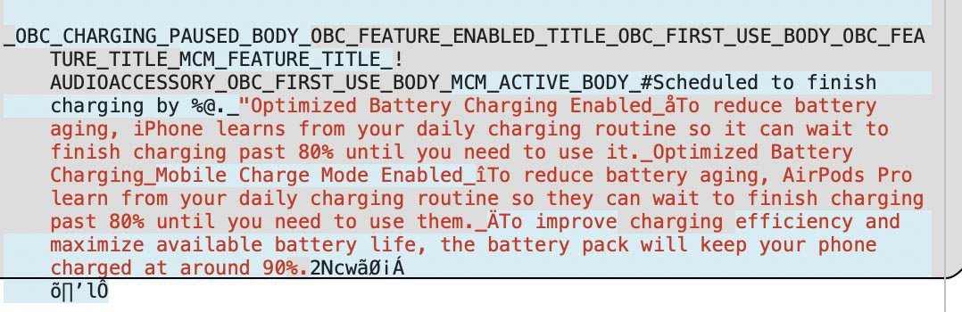 Battery Pack iOS 14.5