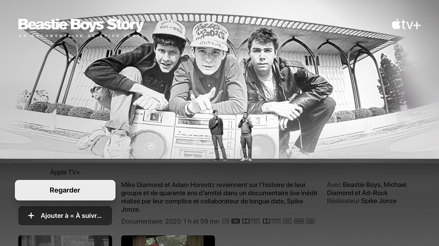 Beastie Boys Story Apple TV+