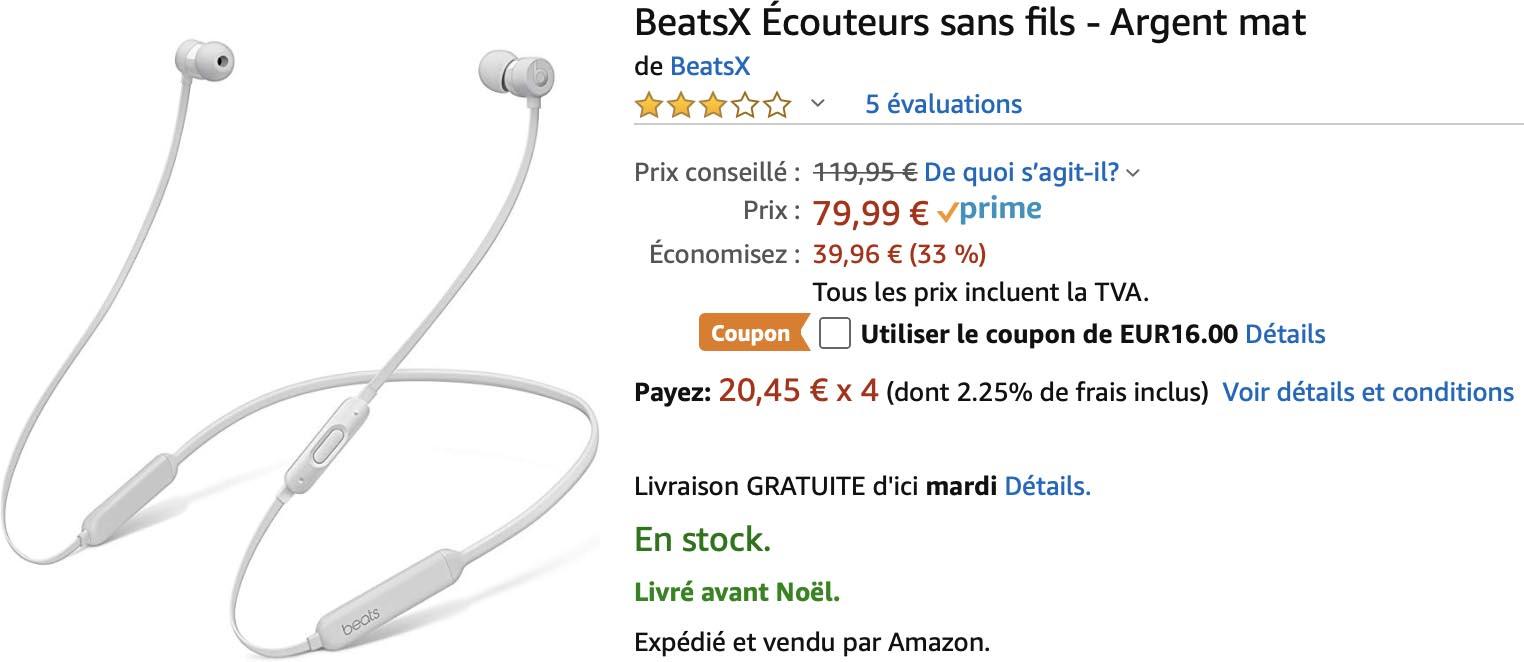 BeatsX Amazon